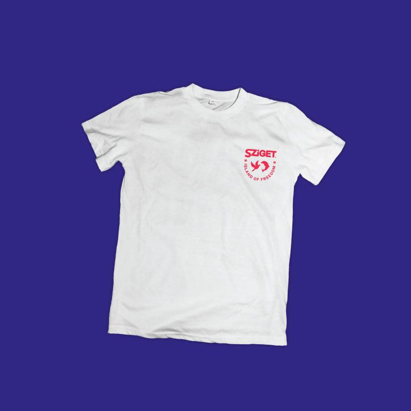 Tričko z organického materiálu